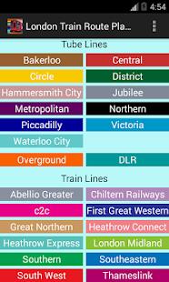 köpa karta över london London Train Route Planner – Appar på Google Play köpa karta över london