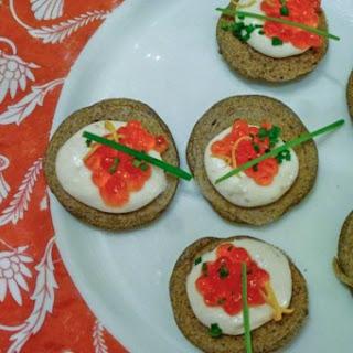 Gluten-Free Buckwheat Blini.