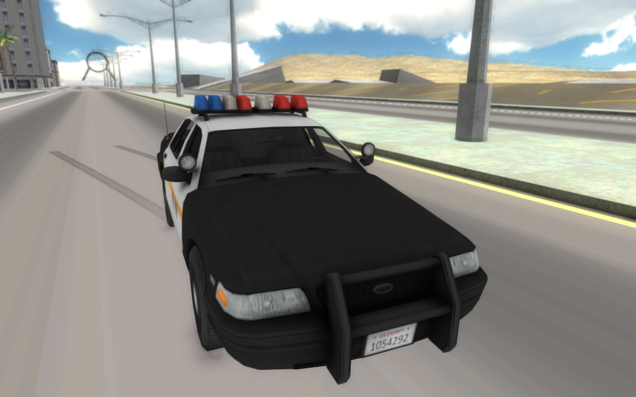 Fast Police Car Driving 3D- screenshot