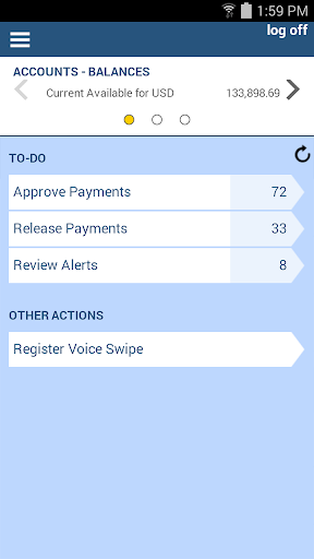J.P. Morgan ACCESS Mobile  screenshots 1