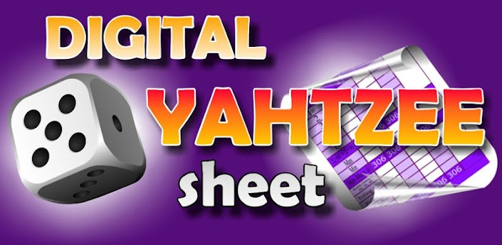 Digital Yahtzee Sheet
