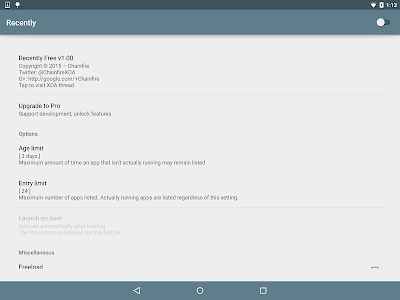 [root] Recently v1.17