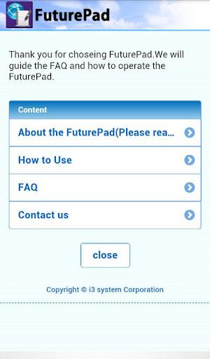 FuturePad 1.00 Windows u7528 8