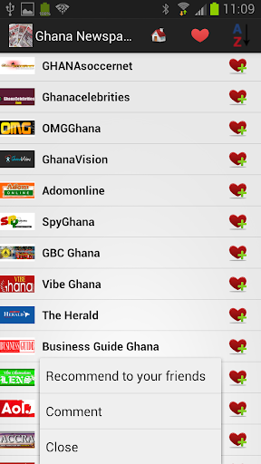 玩免費新聞APP|下載Ghana Newspapers And News app不用錢|硬是要APP
