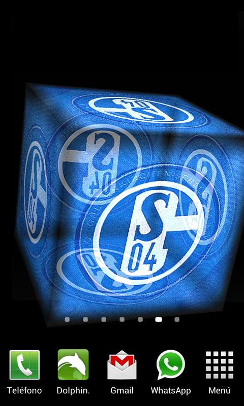 3D Schalke 04 Live Wallpaper - screenshot