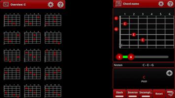 Screenshot of smart Chords & tools (guitar..