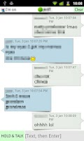 Screenshot of gmob chat