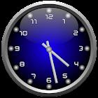 3d Glow Analog Clock Set icon