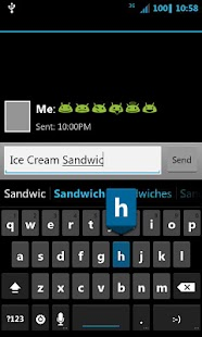 Ice Cream Sandwich CM7 Theme- screenshot thumbnail
