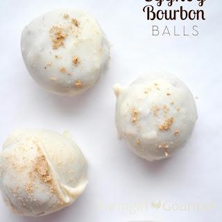 Eggnog Bourbon Balls