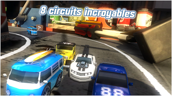 Table Top Racing Gratuit Capture d'écran