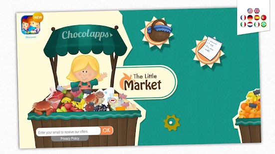 The Little Market - Kid's Game- screenshot thumbnail