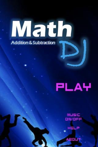 Math DJ: Addition Subtraction