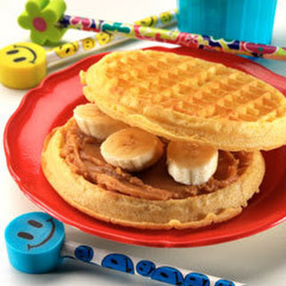 Peanut Butter Waffle-wiches