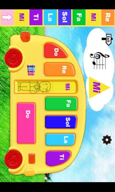 Kids Piano - screenshot