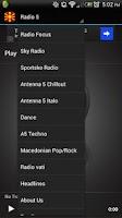 Screenshot of Macedonian Radios