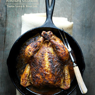 Rotisserie Inspired Roasted Chicken
