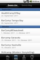 Screenshot of Barcamps USA
