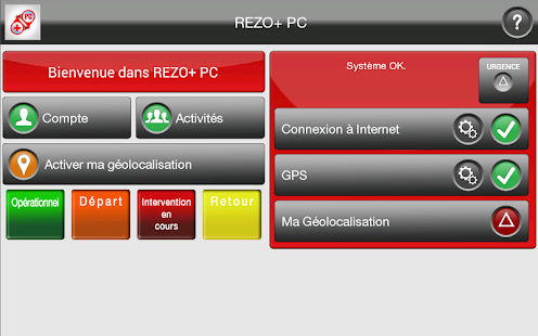 REZO+ PC Capture d'écran