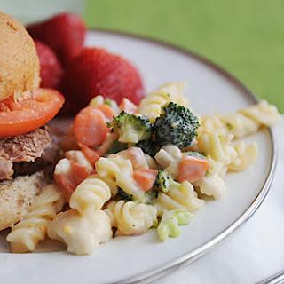 Garden Vegetable Pasta Salad.