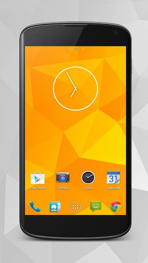 Android Jelly Bean 4.3 GoTheme - screenshot