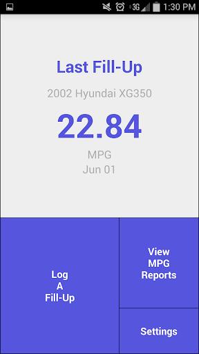 MPG Tracker