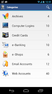 aWallet Password Manager - screenshot thumbnail
