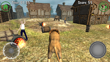 Screenshot of Lion Simulator 3D Adventure