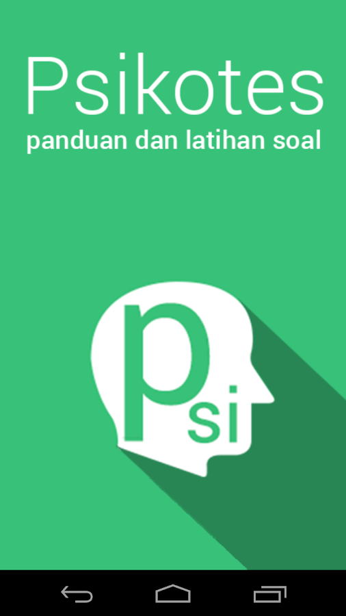 Panduan Psikotes Android Apps On Google Play