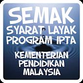 Semak Kelayakan Program IPTA