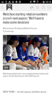 NJ.com: New York Mets News- screenshot thumbnail