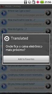 English - Portuguese (Brazil) - screenshot thumbnail