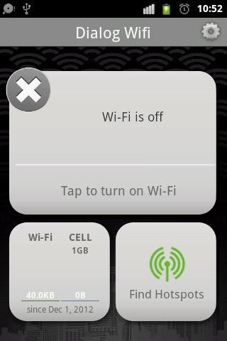 Dialog WiFi