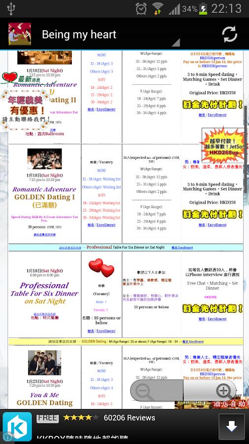 Expat speed dating hk