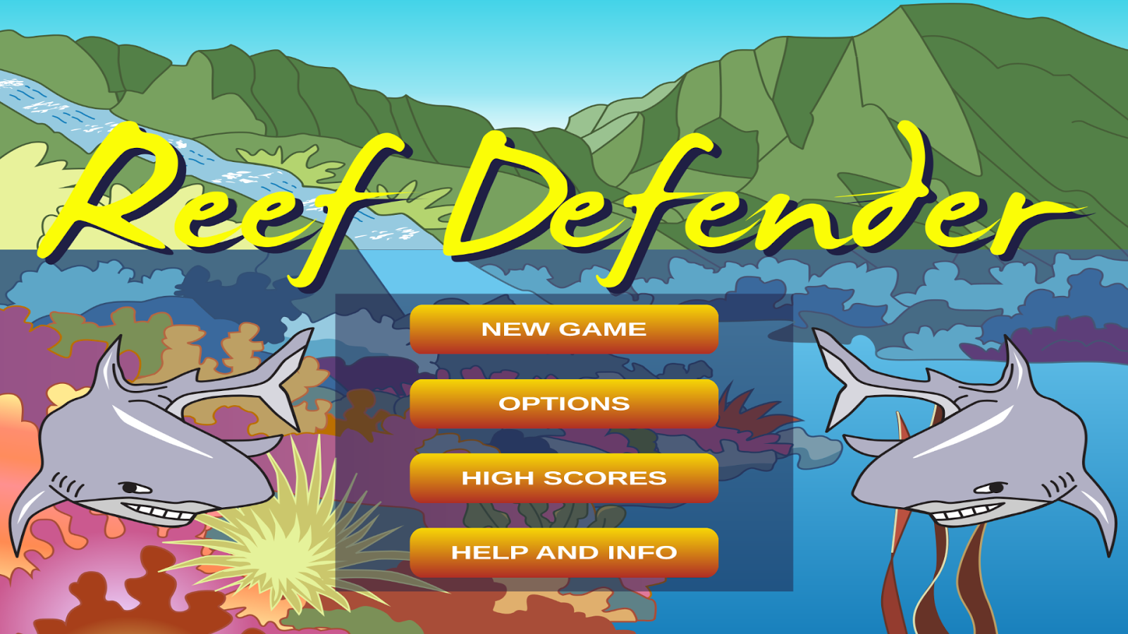 Reef Defender - screenshot