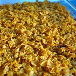Cornflake Topped Potatoes (Heart Attack Potatoes)