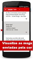 Screenshot of Mensagens Prontas p/ celular