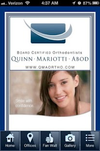 QuinnMariottiAbod Orthodontics- screenshot thumbnail