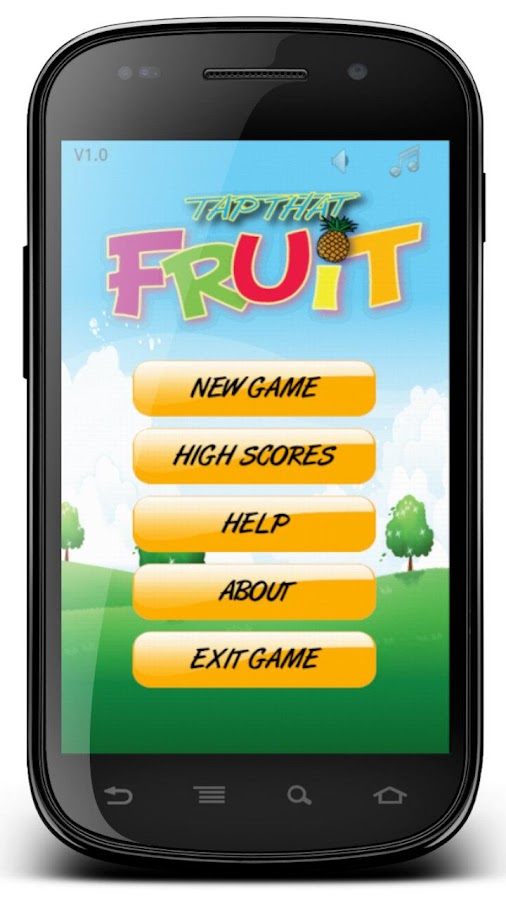 Tap That Fruit - screenshot