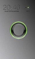 Screenshot of Sense Green Go Locker theme