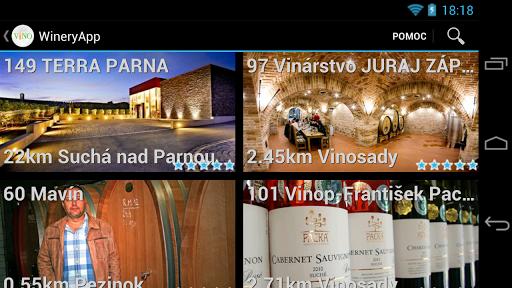 WineryApp okostuj.sk wine