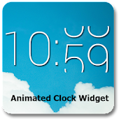 Animated Clock Widget