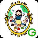 手描き白雪姫カカオトークテーマ icon