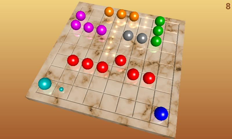 Color Lines 3D - screenshot