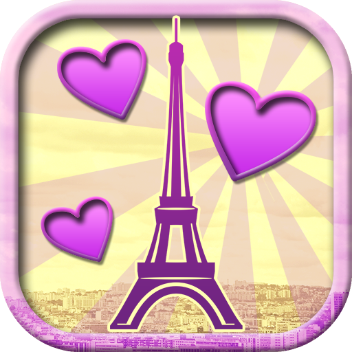 Love in Paris Photo Montage