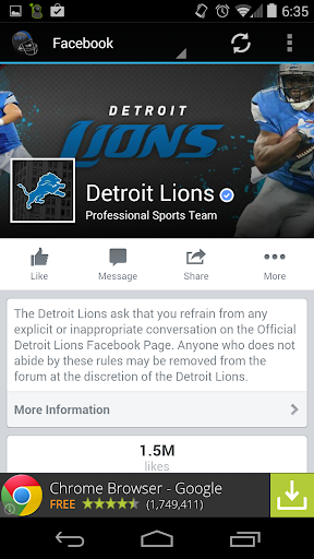 【免費運動App】Detroit Football News-APP點子