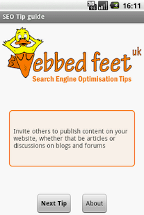SEO Tips Guide- screenshot thumbnail