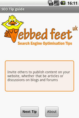 SEO Tips Guide- screenshot