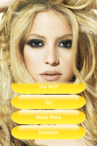 Shakira music - screenshot