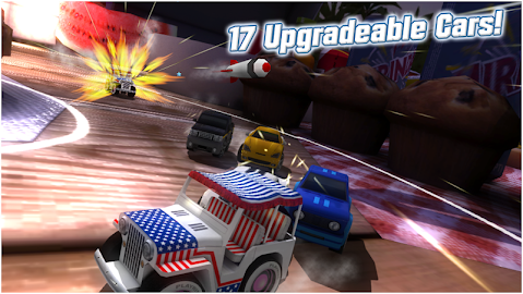 Table Top Racing Free Screenshot 2